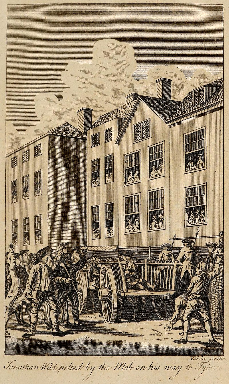 800px-Annals_of_Newgate_-_Jonathan_Wild_pelted_by_the_mob_on_his_way_to_Tyburn